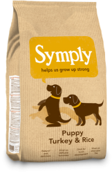 SYMPLY Dog Puppy Turkey & Rice 6kg