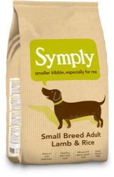 Symply Dog Adult Small Breed Lamb & Rice  2kg