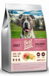 Best Breeder Dog Adult Salmon & Potato 12kg
