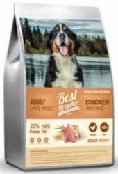 Best Breeder Dog Adult Large Breed Chicken & Rice 12kg