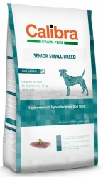 Calibra Grain Free Dog Senior Small Breed Duck 2kg