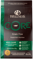 Wellness CORE Grain Free Dog Wild Game Recipe 1,8kg