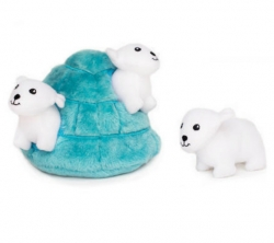 ZippyPaws Burrow Polar Bear Igloo 18cm