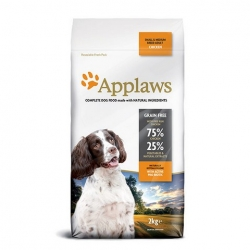 APPLAWS Grain Free Adult Small & Medium Breed Chicken 2kg