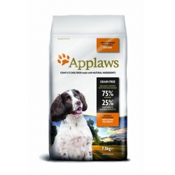 APPLAWS Grain Free Adult Small & Medium Breed Chicken 7,5kg