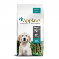 APPLAWS Grain Free Puppy Small & Medium Breed Chicken 2kg