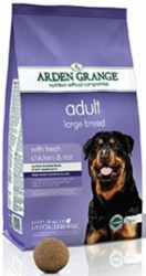 Arden Grande Dog Adult Large Breed with Fresh Chicken & Rice 12kg