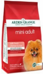 Arden Grande Dog Adult Mini Breed with Fresh Chicken & Rice 2kg