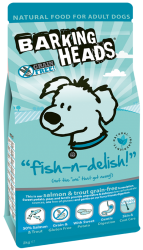 Barking Heads Grain Free Dog Fish-n-Delish  2kg