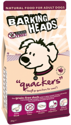 Barking Heads Grain Free Dog Quackers  2kg