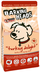 Barking Heads Grain Free Dog Turkey Delight  2kg