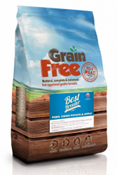 Best Breeder Grain Free Dog Pork, Sweet Potato & Apple 2kg