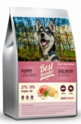 Best Breeder Dog Puppy Large Breed Salmon & Potato  2kg