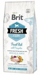 Brit Fresh Fish with Pumpkin Adult Large Dog Muscles & Joints 12kg