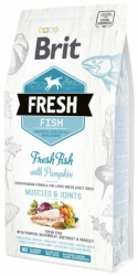 Brit Fresh Fish with Pumpkin Adult Large Dog Muscles & Joints 2,5kg