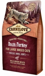 Carnilove Cat Adult Large Breed Duck & Turkey 2kg