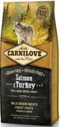 CarniLove Grain Free Dog Adult Large Breed Salmon & Turkey 12kg