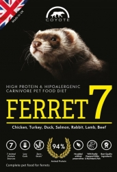 Coyote Carnivore Nutrition FERRET 7 Grain Free 500g