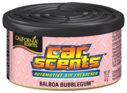 CALIFORNIA SCENTS Osvěžovač vzduchu Car Scents Balboa Bubblegum