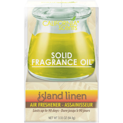 CALIFORNIA SCENTS Air Freshener Solid Fragrance Oil Island Linen 94,5g