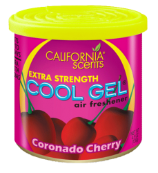 CALIFORNIA SCENTS Cool Gel Air Freshener Coronado Cherry 126g