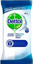 Dettol Antibacterial Cleansing Surface Wipes 36ks
