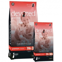 DEVOTED Grain Free Premium Puppy CHICKEN & OCEAN FISH 2kg