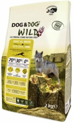 Dog & Dog WILD Grain Free Dog Adult Regional Farm  2kg