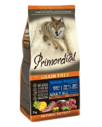 PRIMORDIAL Grain Free Dog Adult Tuna and Lamb 2x2kg