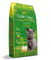 TRIPLE CROWN Lovely Kitten 14kg
