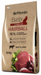 Fitmin Purity Grain Free Cat Hairball 10kg