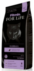 Fitmin For Life Cat Adult Hairball 8kg