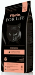 Fitmin For Life Cat Adult Salmon 8kg