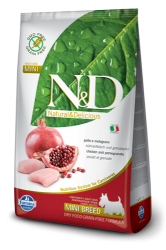 N&D Grain Free Dog Adult Mini Chicken & Pomegranate 7kg