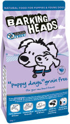 Barking Heads Grain Free Dog Puppy Days  6kg