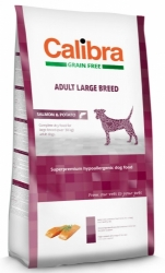 Calibra Grain Free Dog Adult Large Breed Salmon 12kg