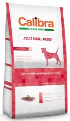 Calibra Grain Free Dog Adult Small Breed Duck 7kg