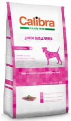 Calibra Grain Free Dog Junior Small Breed Duck 7kg