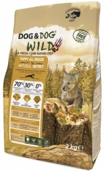 Dog & Dog WILD Grain Free Dog Puppy Natural Instinct 12kg