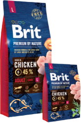 Brit Premium by Nature Dog Adult Large Breed 15kg