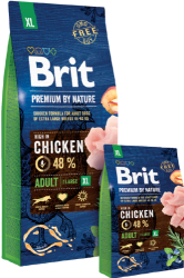 Brit Premium by Nature Dog Adult XL Breed 15kg