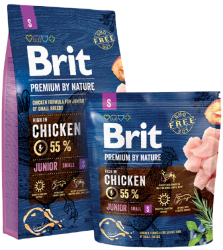 Brit Premium by Nature Dog Junior Small Breed 3kg