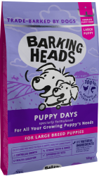 Barking Heads Puppy Days for Large Breed Puppy 18kg