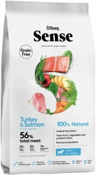 Dibaq Sense Grain Free Dog Puppy Salmon & Turkey 12kg
