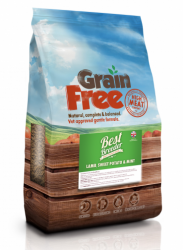 Best Breeder Grain Free Dog Lamb, Sweet Potato with Mint 2x12kg