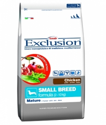 EXCLUSION Mediterraneo Dog Adult Mature Small Breed Chicken 2kg