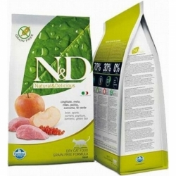 N&D Grain Free Cat Adult Boar&Apple  5kg