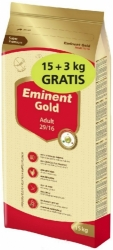 Eminent Gold Dog Adult 15kg + 3kg Zdarma