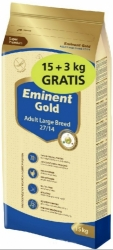 Eminent Gold Dog Adult Large Breed 15kg + 3kg Zdarma