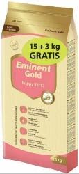 Eminent Gold Dog Puppy 15kg + 3kg Zdarma